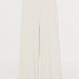 Ribbed Pants   H&M (US)