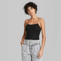 Women's Spaghetti Strap Bodysuit - Wild Fable™   Target