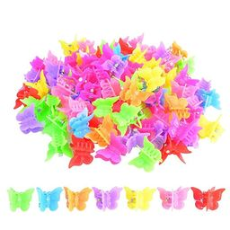 100 Packs Assorted Color Butterfly Hair Clips, Bantoye Girls Beautiful Mini Butterfly Hair Clips ...   Amazon (US)