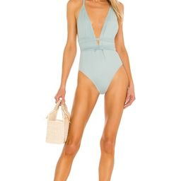 OW Intimates Ariana Swimsuit in Ash Green from Revolve.com   Revolve Clothing (Global)