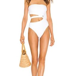 Lovers + Friends American Girl One Piece in White from Revolve.com   Revolve Clothing (Global)