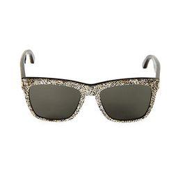 55MM Glitter Square Sunglasses   Saks Fifth Avenue OFF 5TH