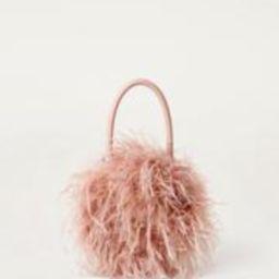 Zadie Feather Bag Pink | Loeffler Randall