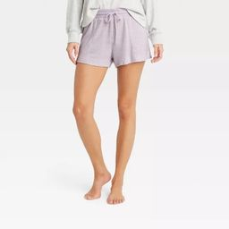 Women's Striped Perfectly Cozy Lounge Shorts - Stars Above™ | Target