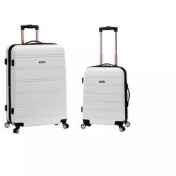 Rockland Melbourne 2pc ABS Spinner Luggage Set   Target