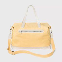 Zip Closure Weekender Bag - A New Day™ Yellow   Target