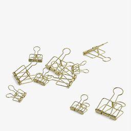 Outline paper clips set of 10   Selfridges