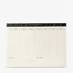 Time Management Pad weekly planner   Selfridges