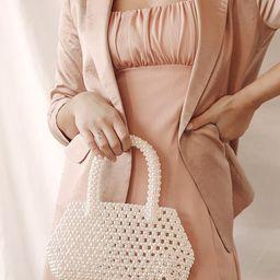 Handle My Love White Pearl Mini Handbag | Lulus (US)