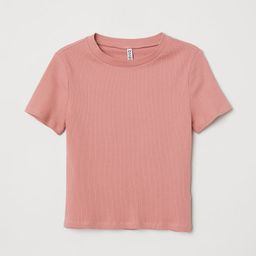 Rib-knit Top   H&M (US)