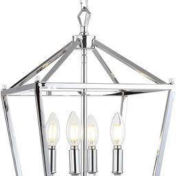 JONATHAN Y JYL7436C Pagoda Lantern Dimmable Adjustable Metal LED Pendant, Classic, Traditional fo... | Amazon (CA)