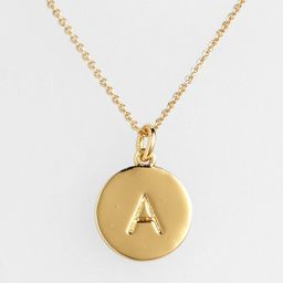 one in a million initial pendant necklace   Nordstrom