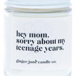 Ginger June Candle Co Hey Mom, Sorry Large Jar Candle   Nordstrom   Nordstrom