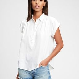 Pleated Popover Top | Gap (US)