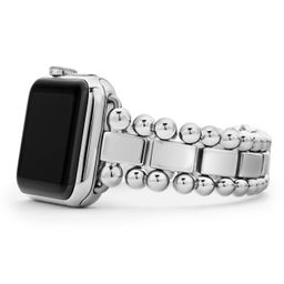 Smart Caviar Stainless Steel Link Band for Apple Watch®   Nordstrom