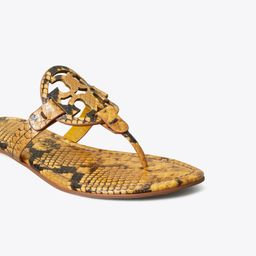Miller Sandal, Embossed Leather   Tory Burch (US)