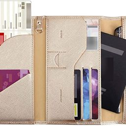 Zoppen Multi-purpose Rfid Blocking Travel Passport Wallet (Ver.4) Tri-fold Document Organizer Hol... | Amazon (US)