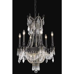 Ursula 9 - Light Candle Style Empire Chandelier with Crystal Accents   Wayfair North America