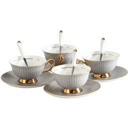 Riveria Bone China Teacup & Saucer | Wayfair North America