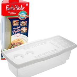 Microwave Pasta Cooker - The Original Fasta Pasta - No Mess, Sticking or Waiting For Boil | Amazon (US)