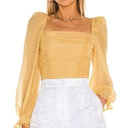 ASTR the Label Tonina Top in Dandelion Yellow from Revolve.com   Revolve Clothing (Global)