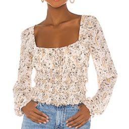 Free People Lolita Top in Light Combo from Revolve.com   Revolve Clothing (Global)