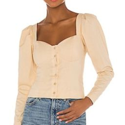 Song of Style Angelo Top in Biscotti Beige from Revolve.com   Revolve Clothing (Global)