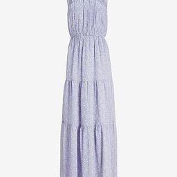Floral Tiered Maxi Dress | Express