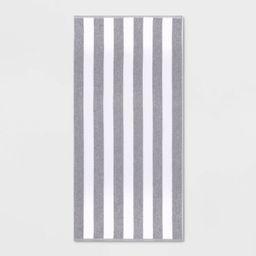 Cabana Striped Beach Towel - Sun Squad™ | Target