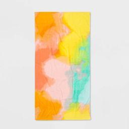 Tie Dye Printed Beach Towel - Sun Squad™ | Target