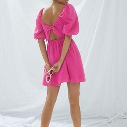 Maeve Puff-Sleeved Mini Dress   Anthropologie (US)