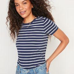 EveryWear Striped Short-Sleeve Tee for Women | Old Navy (US)