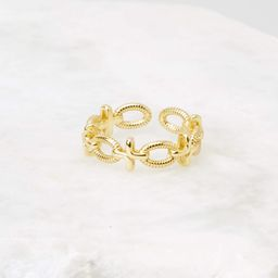 GiGi Gold Ring | Red Dress