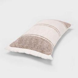 Woven Striped Throw Pillow - Threshold™ | Target