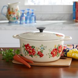 The Pioneer Woman Vintage Floral 5-Quart Dutch Oven | Walmart (US)