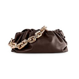 The Chain Pouch Leather Clutch | Saks Fifth Avenue