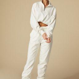 MONTECITO SWEATPANT - WHITE   Shop Tan Lines