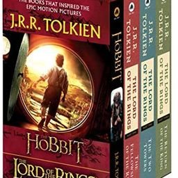 J.R.R. Tolkien 4-Book Boxed Set: The Hobbit and The Lord of the Rings   Amazon (US)