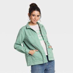 Women's Long Sleeve Chore Jacket - Universal Thread™   Target