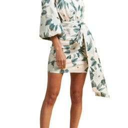 x The Salty Blonde Sunkissed Print One-Shoulder Minidress   Nordstrom