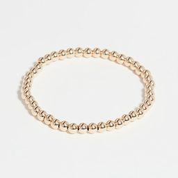 4mm Gold Bracelet | Shopbop