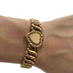 Sweetheart Bracelet Carmen Expandable Gold Bracelet 14K Rolled Gold, WWII Sweetheart Jewelry Vint... | Etsy (US)