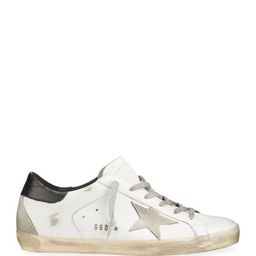 Superstar Mixed Leather Sneakers   Neiman Marcus