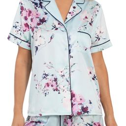 Floral Print Satin Short Pajamas | Nordstrom