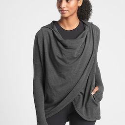Purana Wrap Sweatshirt | Athleta