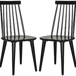 Safavieh Burris 17''H Spindle Side Chair   QVC
