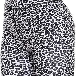Persit Women's High Waist Print Workout Yoga Shorts with 2 Hidden Pockets, Non See-Through Tummy ... | Amazon (US)