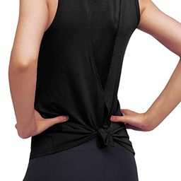Mippo Workout Tops for Women Yoga Tank Tops Gym Shirs Workout Clothes | Amazon (US)
