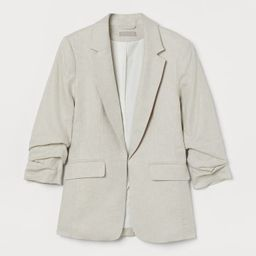 Linen-blend Jacket  $49.99 | H&M (US)