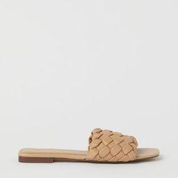 Braided Sandals  $17.99 | H&M (US)